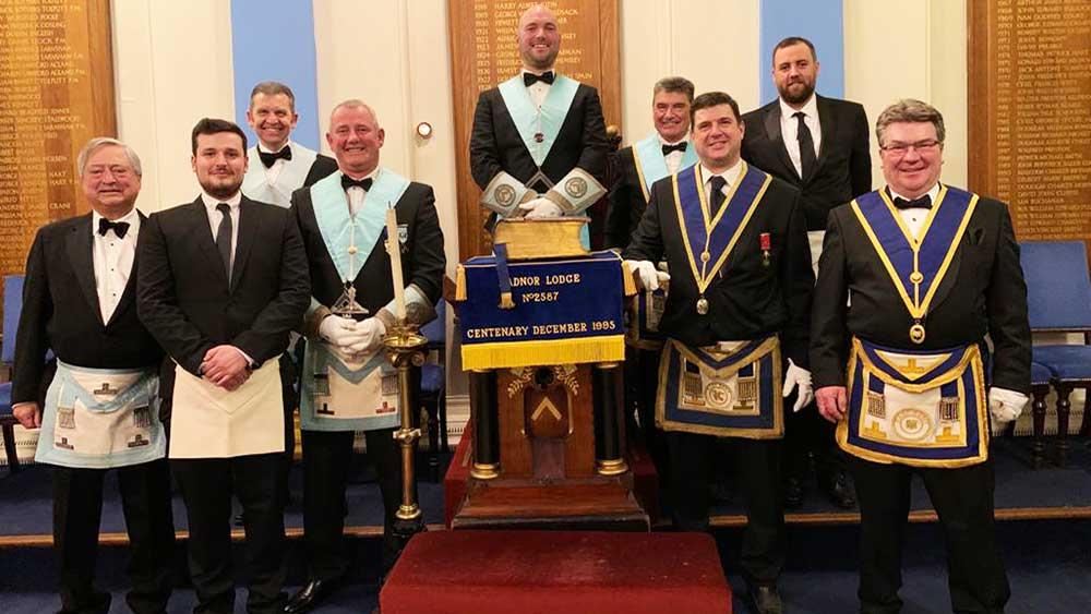 Freemasons in Folkestone, East Kent